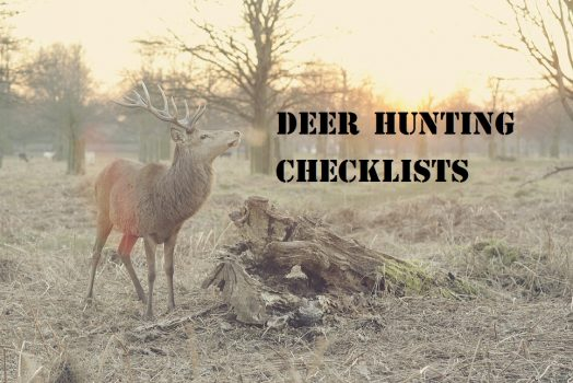 Deer Hunting Checklists