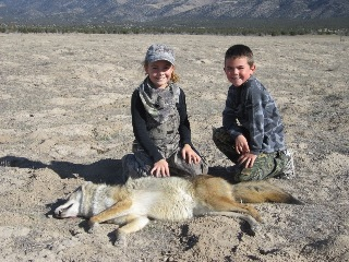 Utah Youth Coyote Hunt