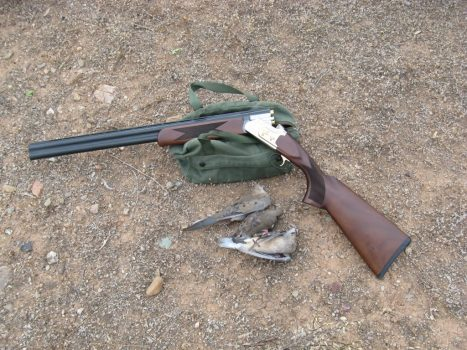 best over under shotgun for dove hunting