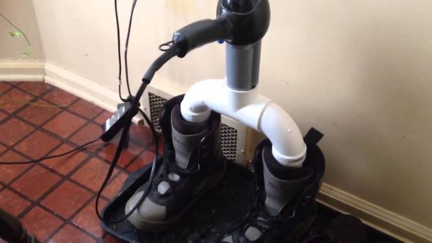 homemade boots dryer