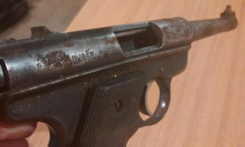 restoring rusted gun