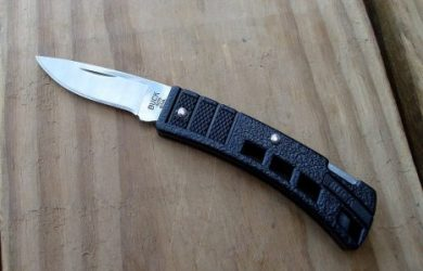 sharpen buck knife